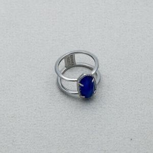 Nwot Kendra Scott Elyse ring in colbolt blue